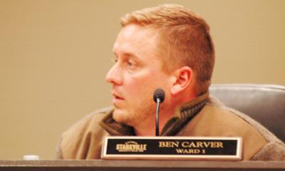 Ward 1 Aldermen Ben Carver