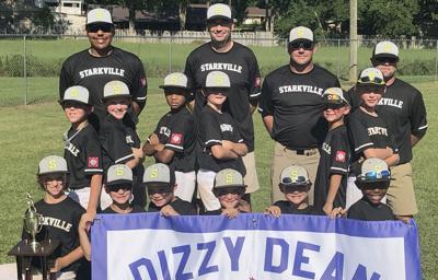 Starkville American 8-year-old Dizzy Dean All-Stars