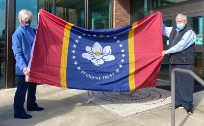 New state flag for city hall