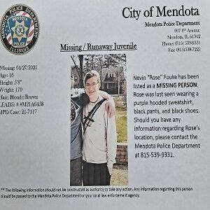 Nevin Fouke Missing Person Flyer