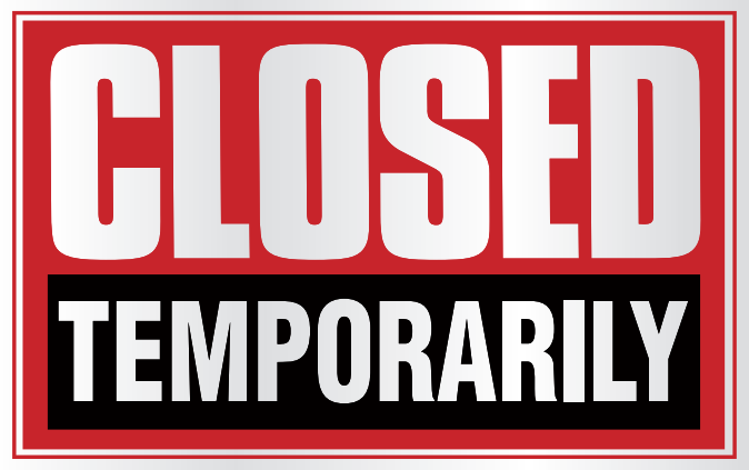 Closed Temporarily