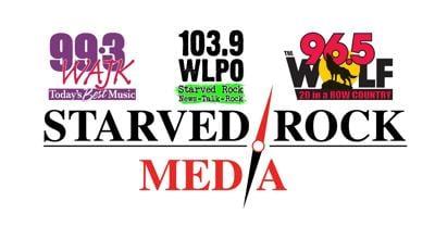 Starved Rock Media logo corporate cluster