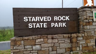 Route 71 Starved Rock State Park entrance