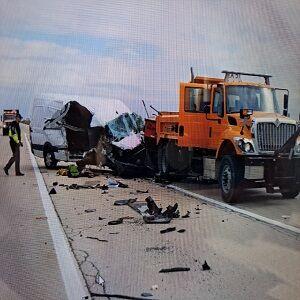 Mendota Construction Zone Crash