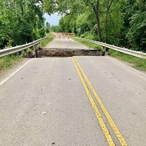 Seneca Washed Out Bridge