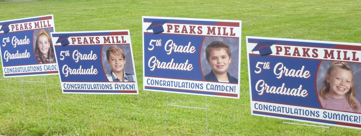 Peaks Mill fifth graders