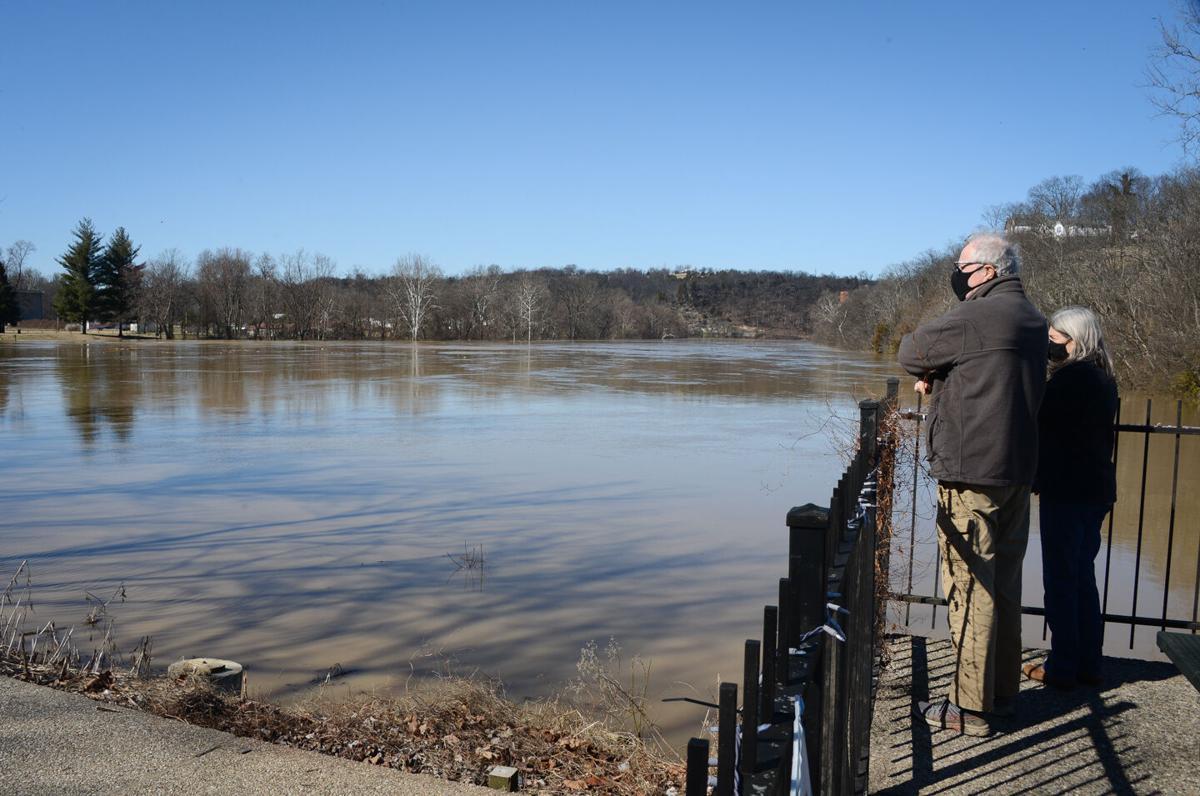 Kentucky River flood — March 2, 2021