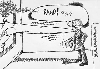 Cartoon: Not again, Rand