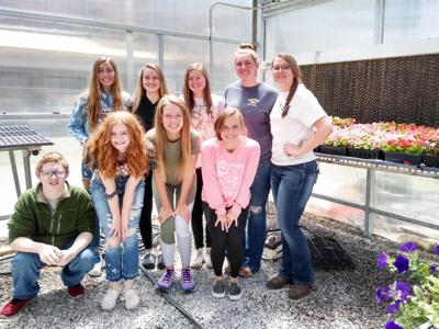 Education Spotlight: FCHS, WHHS greenhouses in bloom, open for business