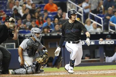 Pirates Marlins Baseball