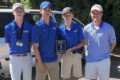 Frankfort boys golf