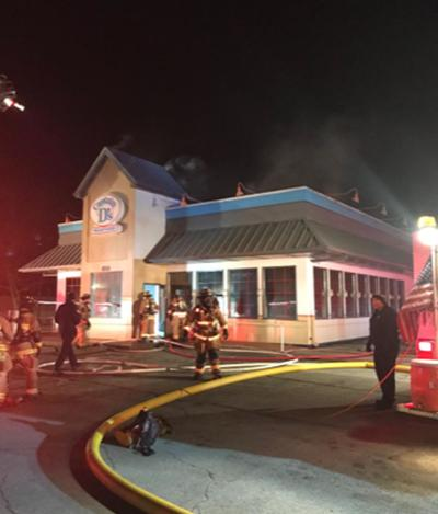 No one injured in early-morning attic fire at Captain D's
