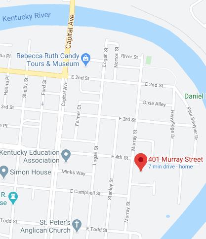 Murray Street map