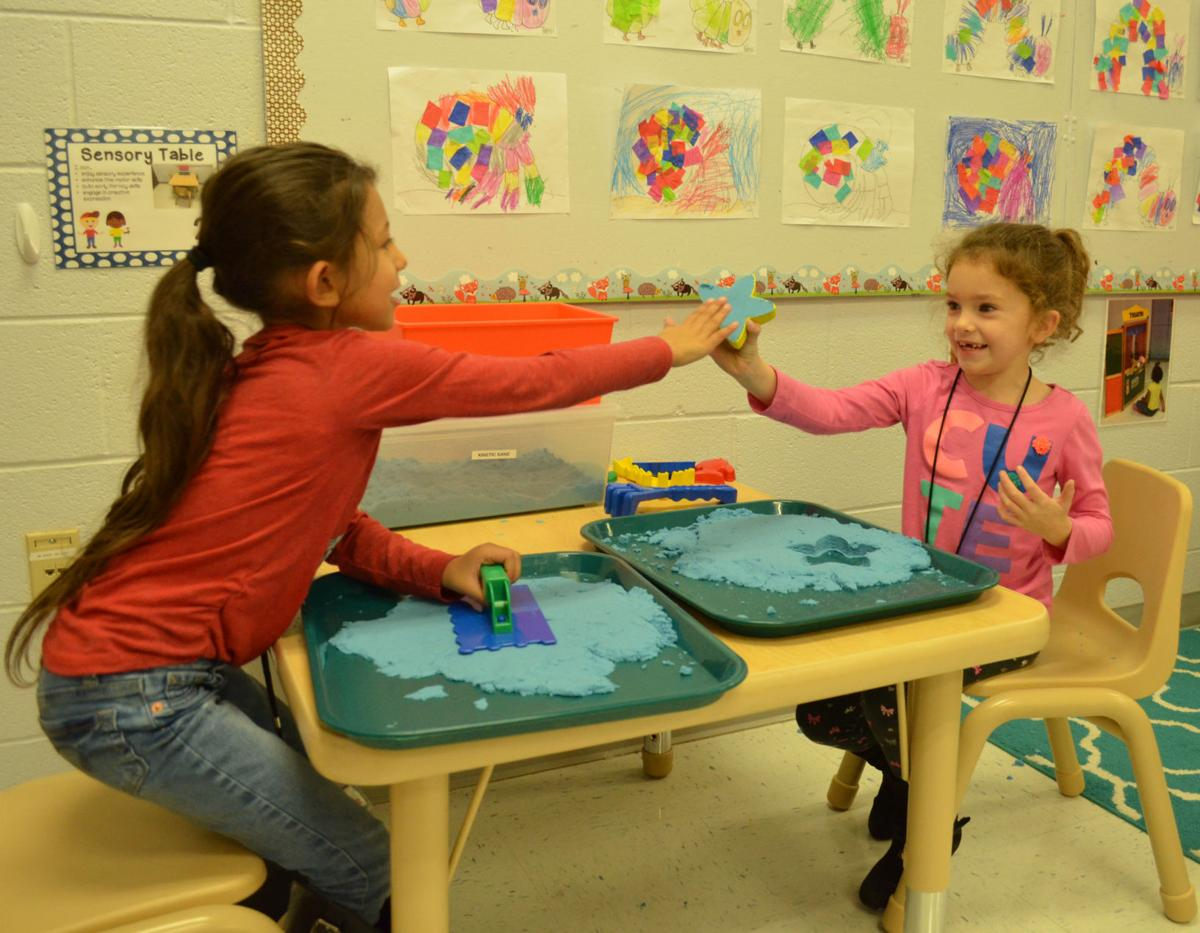 At Early Learning Village, students play and learn skills, too