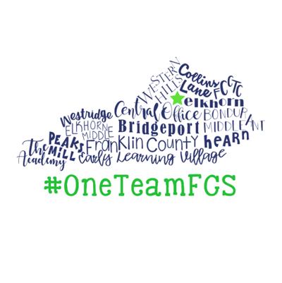 franklin county schools logo one team