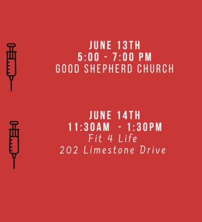 More June COVID events