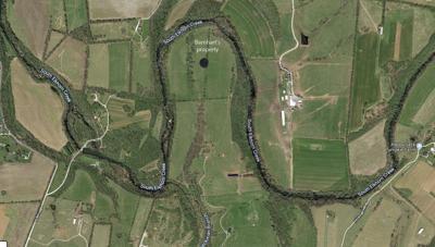 Barnhart property map