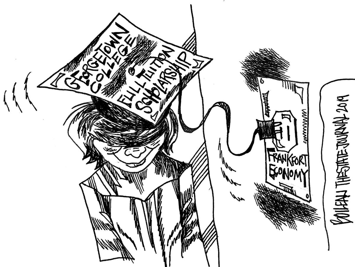 Cartoon Georgetown College Scholarship To Help Frankfort S Economy Opinion State Journal Com