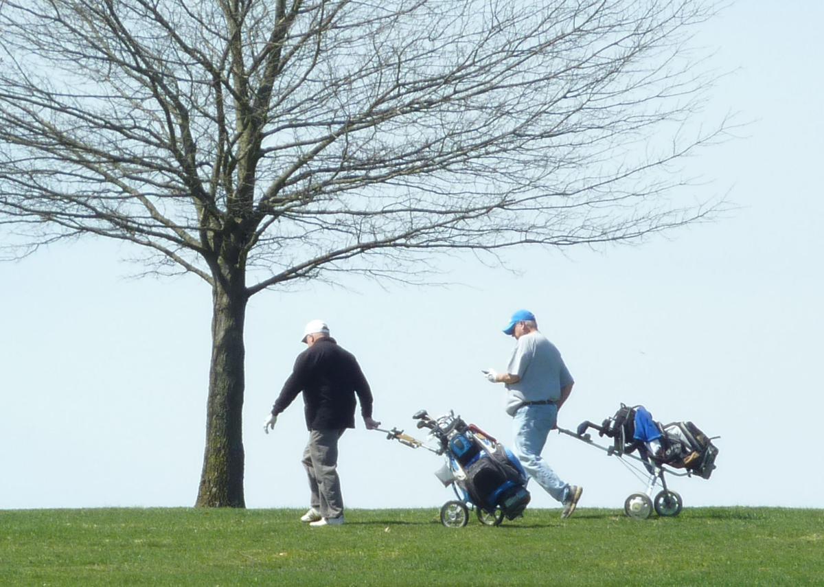 Juniper Hill golf walk