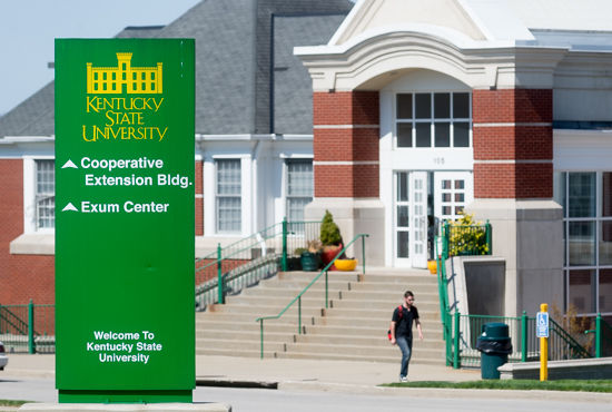 Kentucky State University student: show me the money