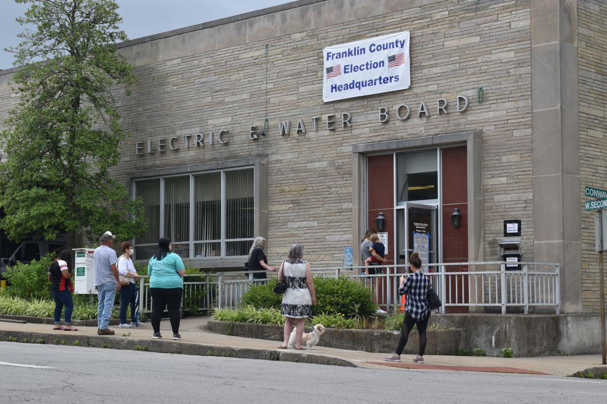 Franklin County Voters Turn Out For Unusual Primary Election