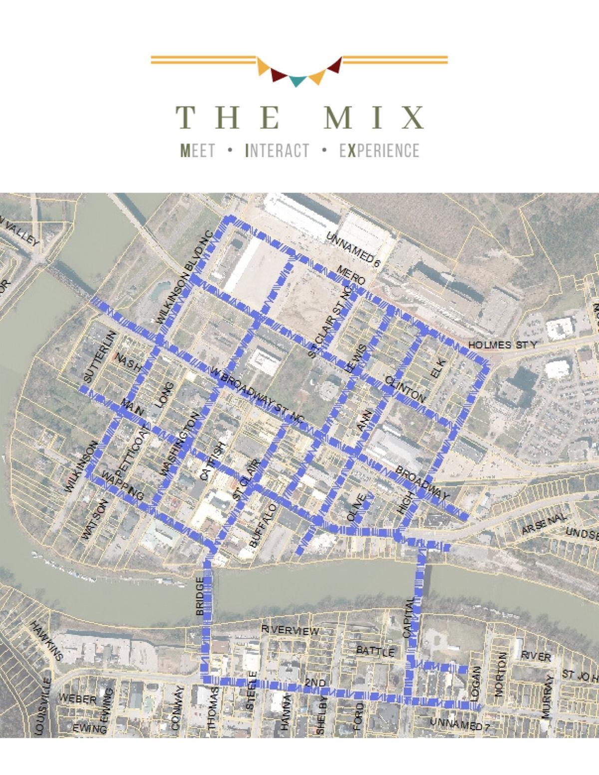MIX District map
