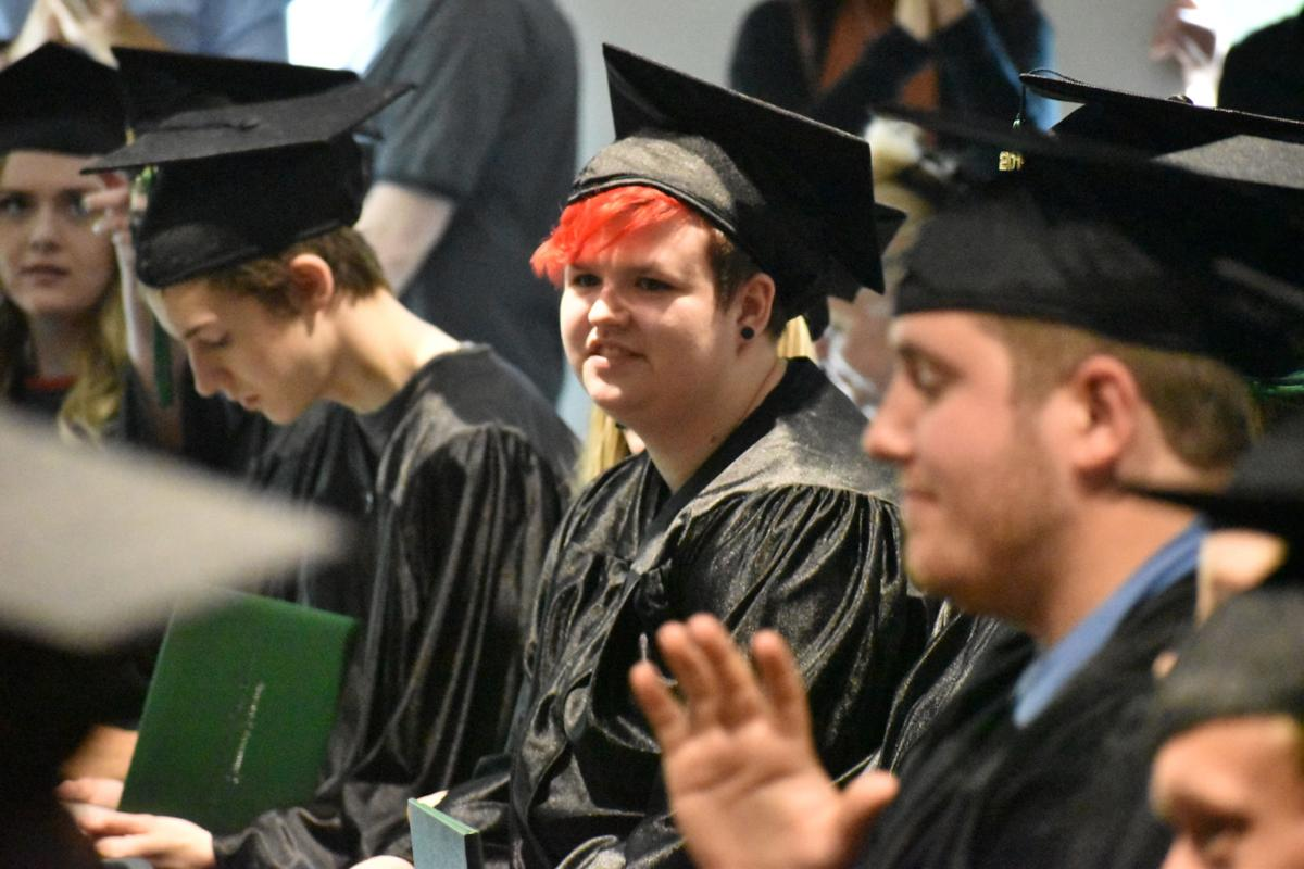 First class of graduates receives diplomas from William Cofield High School