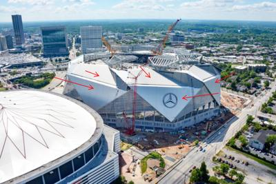 Business Spotlight: Frankfort plant had a hand in Mercedes Benz Stadium construction