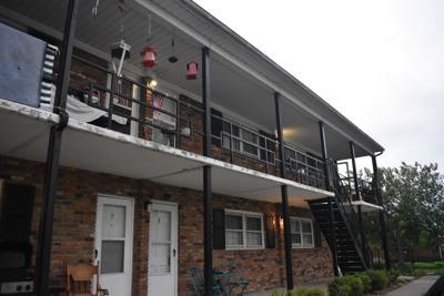 Collins Lane apartment