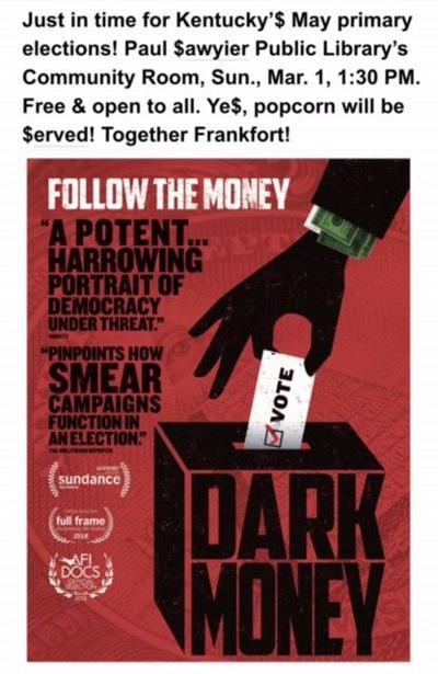 """Dark Money"""
