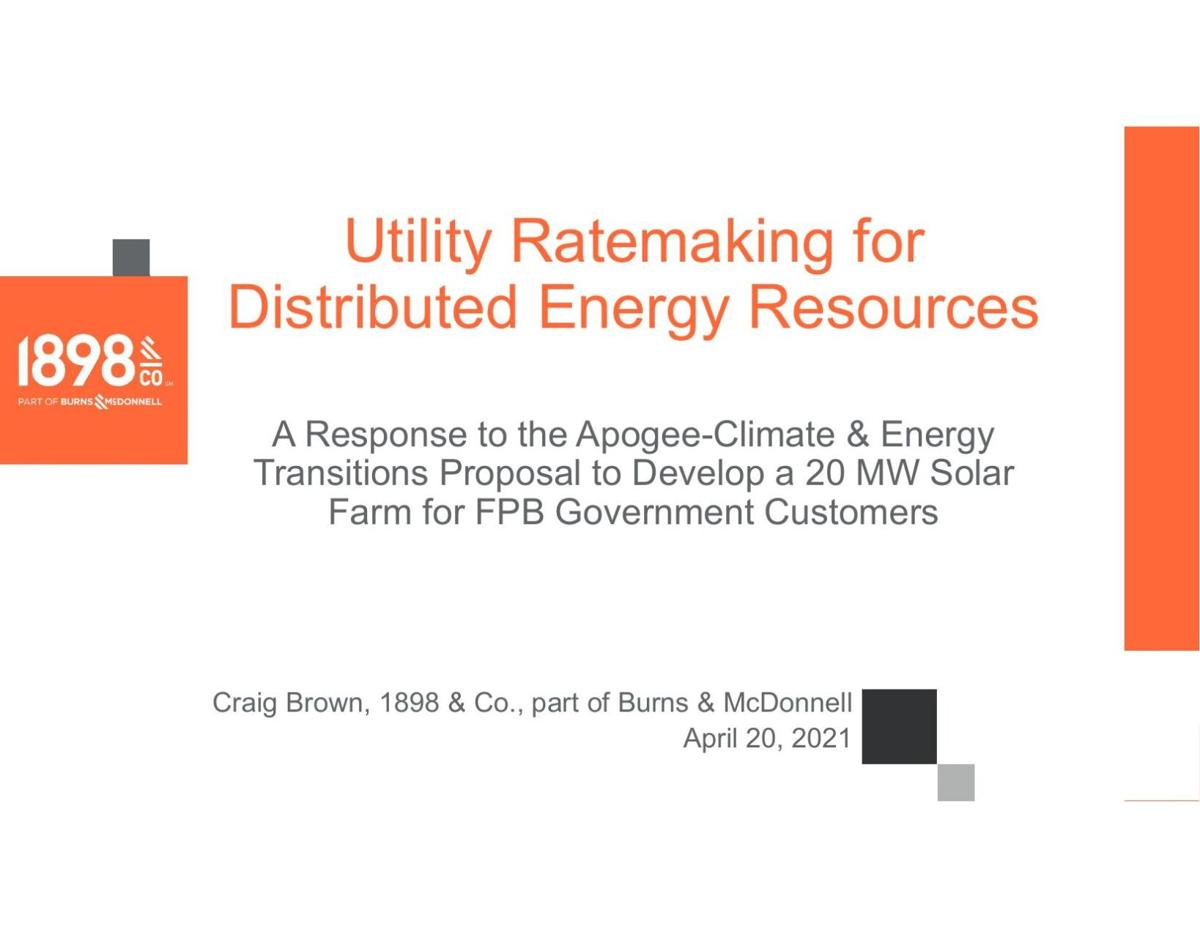 Burns & McDonnell solar presentation