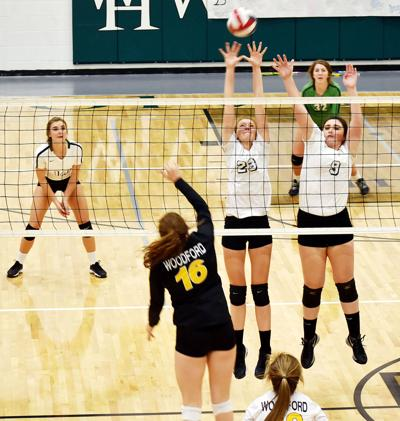 WHHS-Woodford volleyball