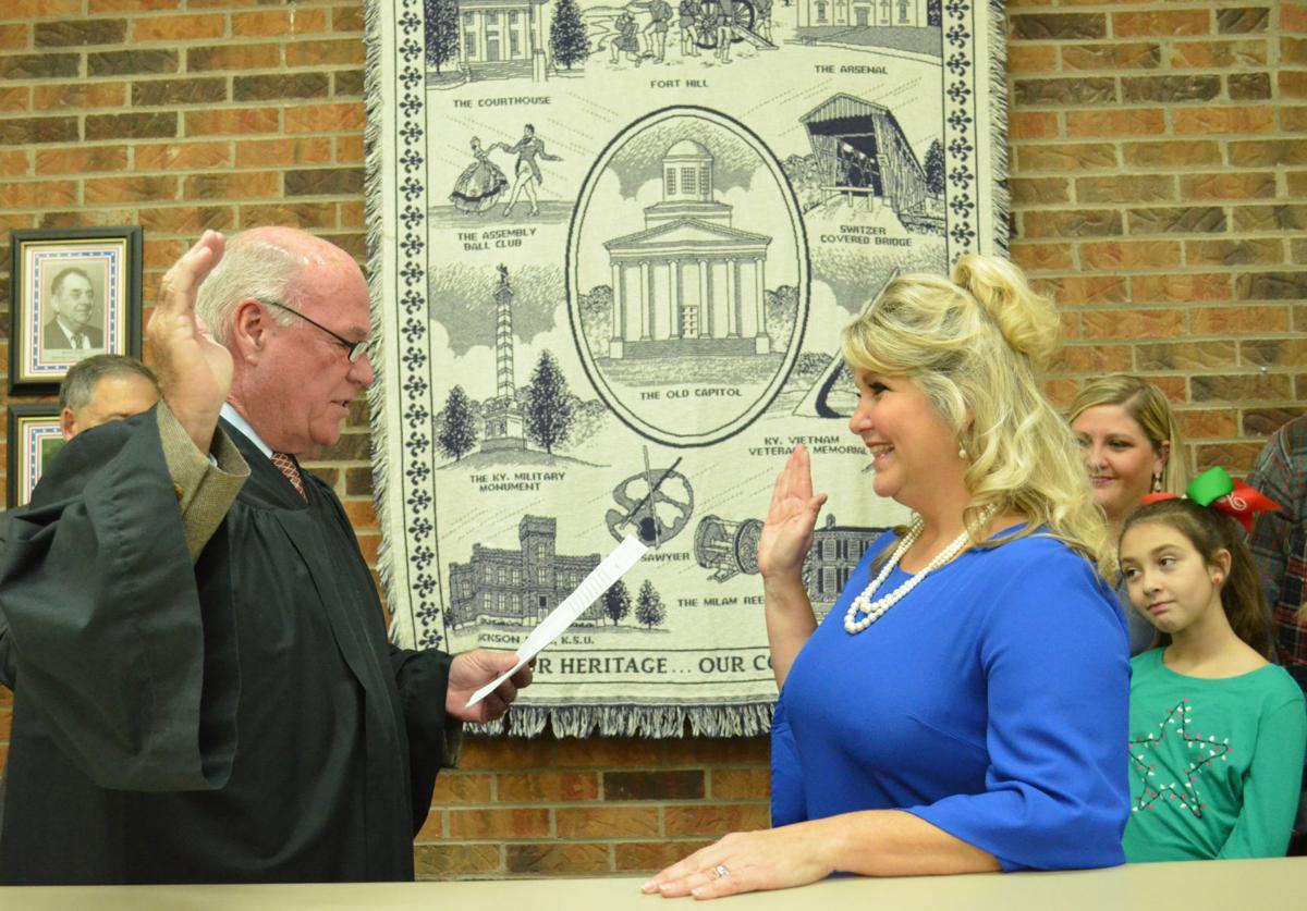 Kellie Lang sworn in as PVA