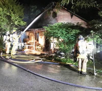 Grant Street house fire