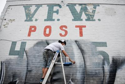 Mural artist questioned by Frankfort Police