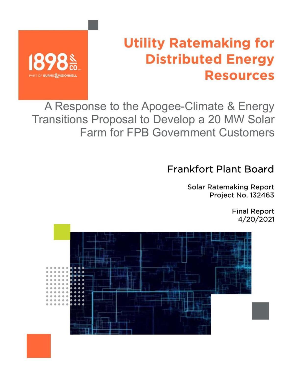 Burns & McDonnell solar report