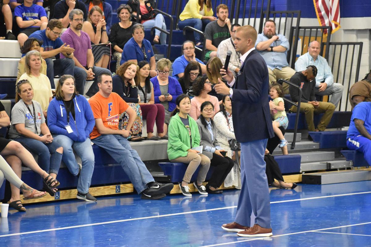 UK assistant basketball coach motivates FIS teachers