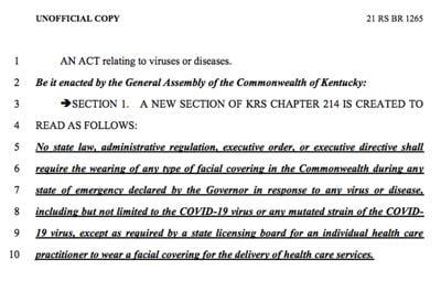 Senate Bill 158