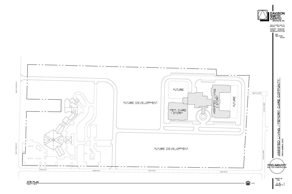 MLK/East-West facility site plans