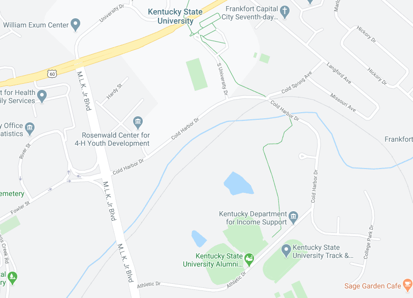 Cold Harbor Drive map