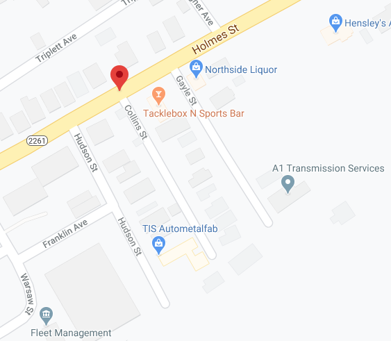 Collins Street map