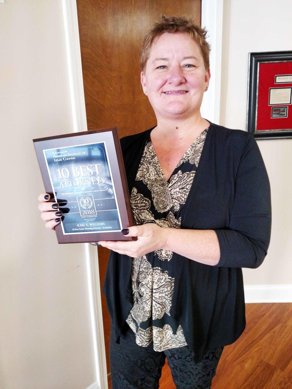 Business Spotlight: Williams named among best family planning attorneys in state