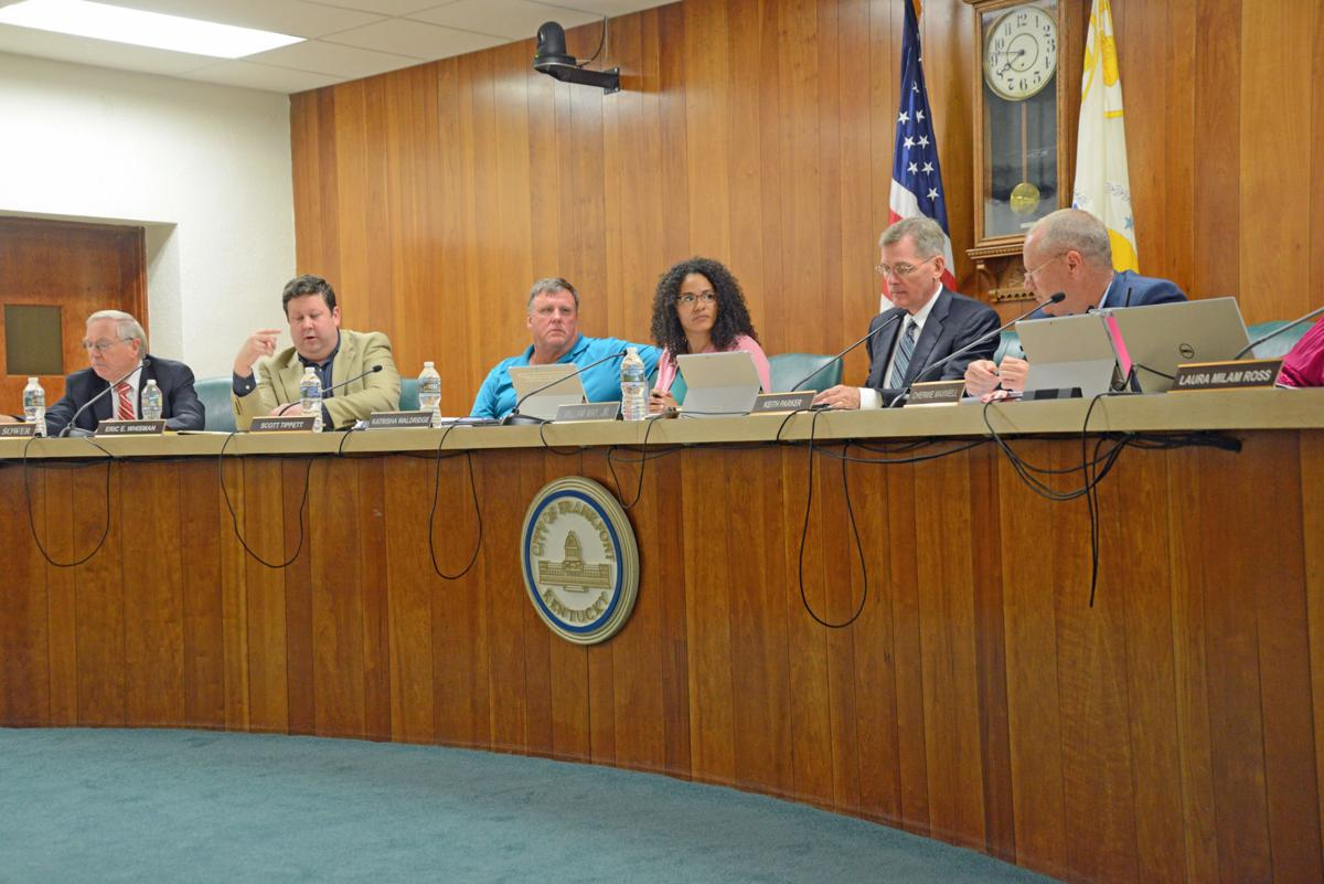 Commission approves budget and recycling proposal, declines to revisit Fort Hill controversy