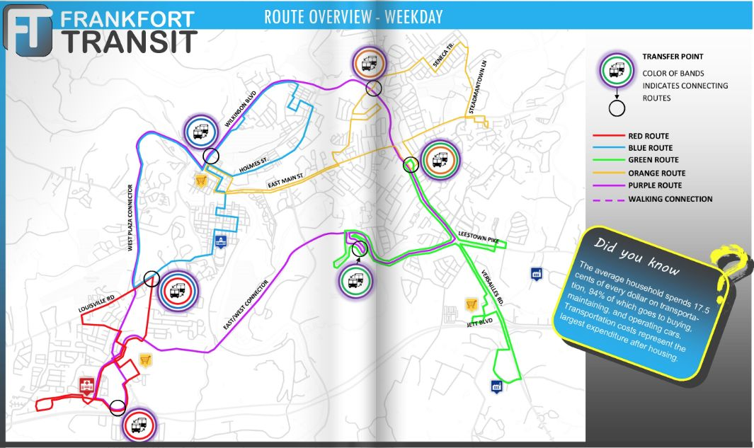 Changes coming to Frankfort Transit routes in 2020
