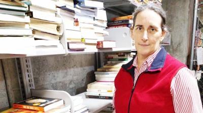 Volunteer Spirit: Love of books provides Brown with way to give back