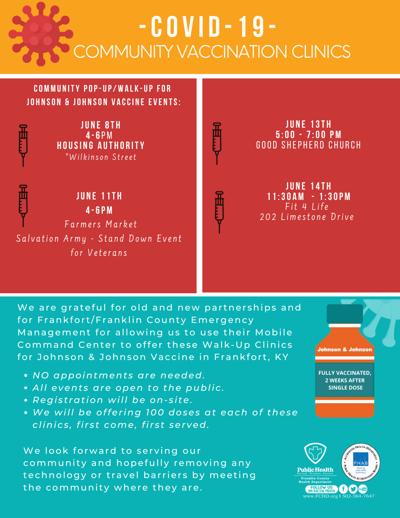 -COVID-19- Vaccination Community Clinics 2021