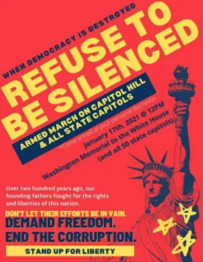 011521 Refuse to be silenced