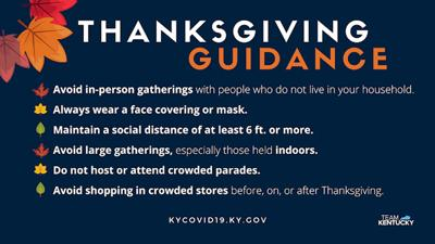 Thanksgiving guidance