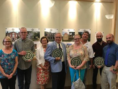 Franklin County Trust for Historic Preservation presents awards