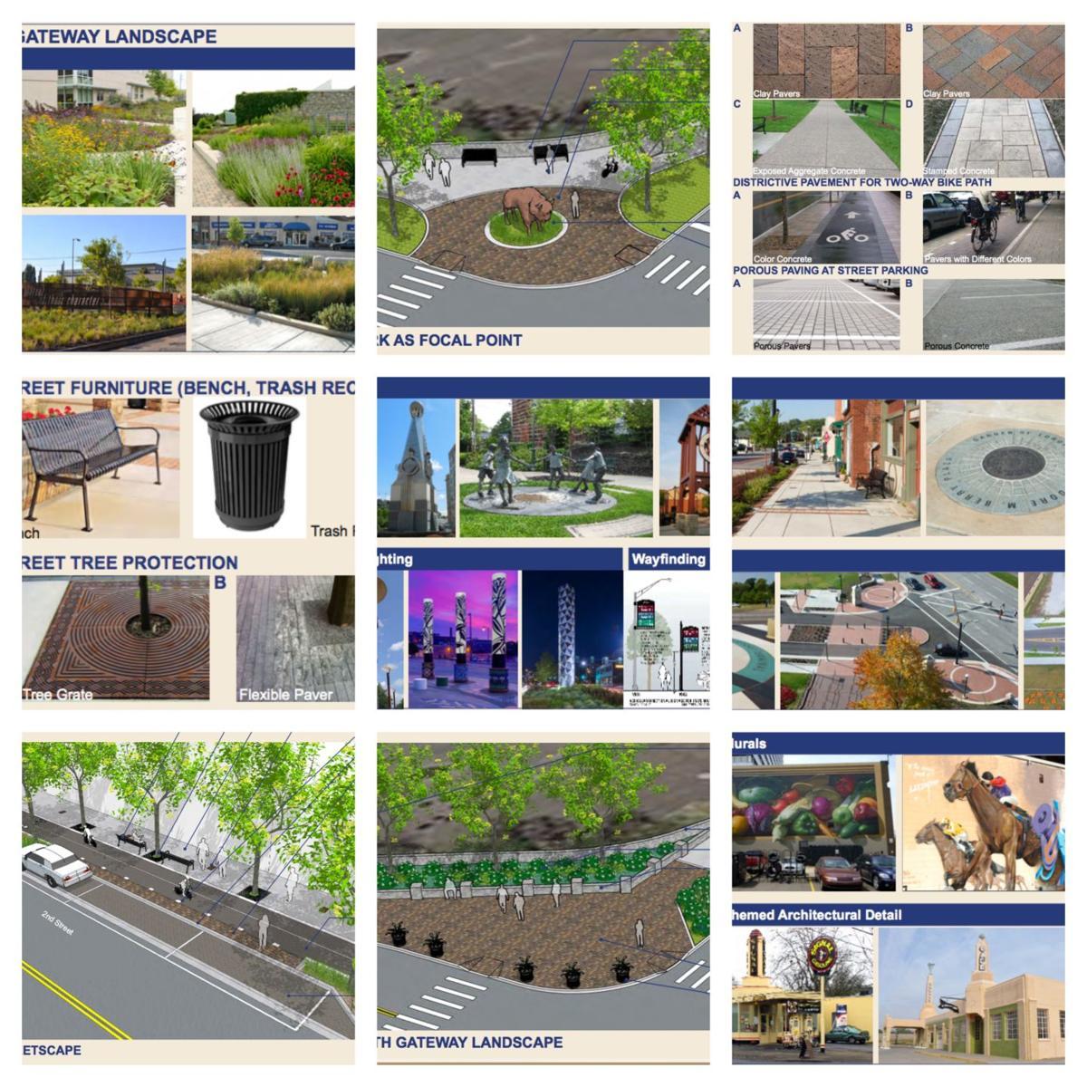 TIGER grant collage